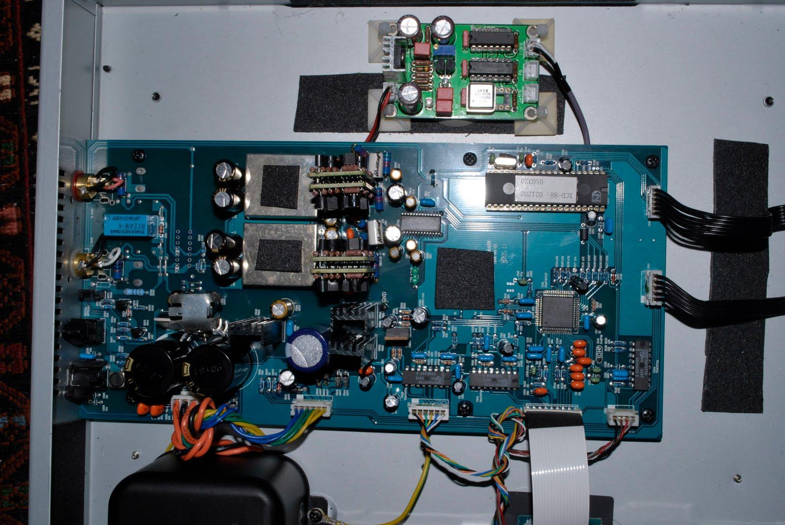 Onix Audio XCD 88 CD Player discrete opamp