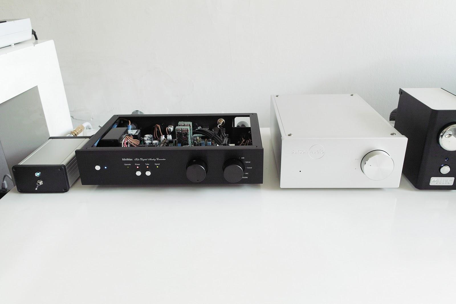 Eastern Electric Minimax Dac discrete opamp