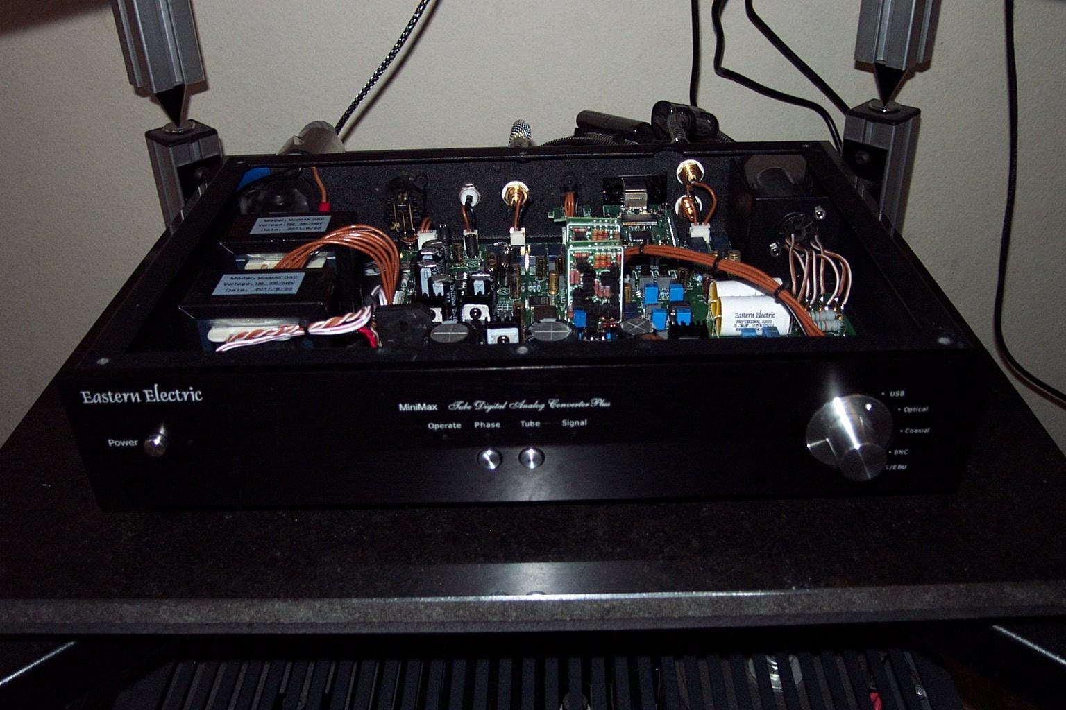 EE Minimax Dac discrete opamp