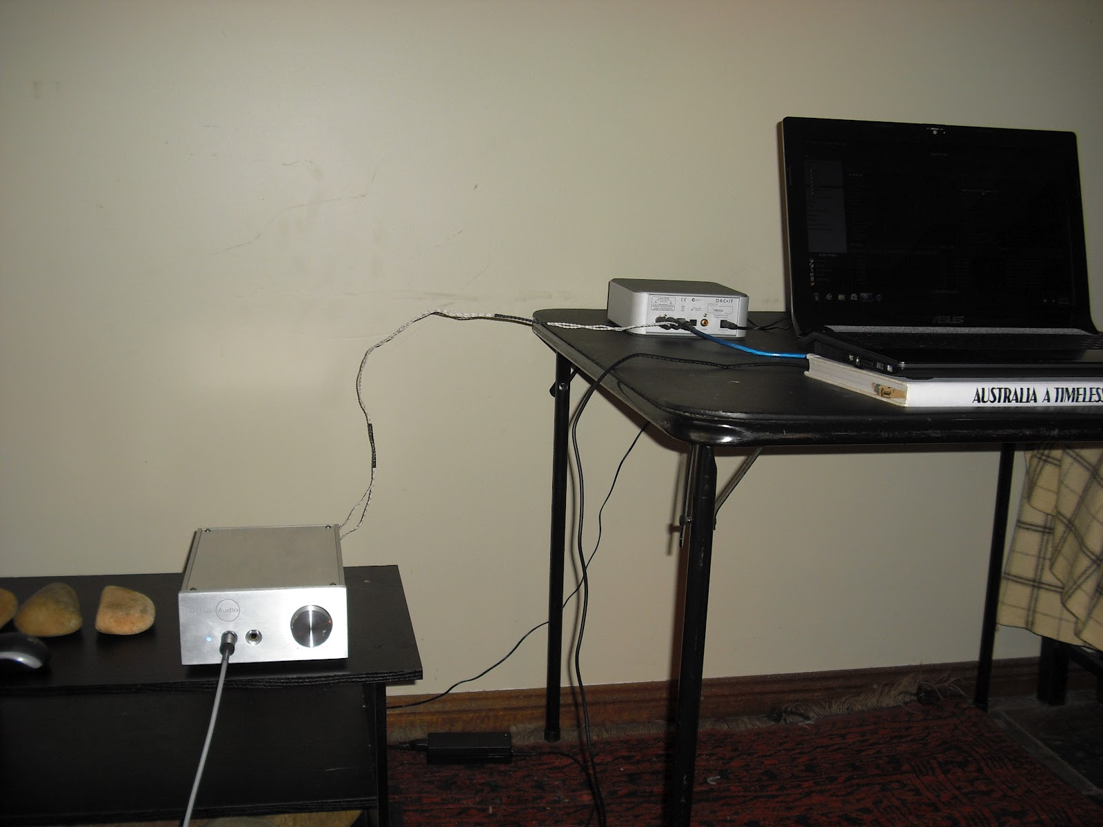 AKG Q701 Quincy Jones headphone amplifier