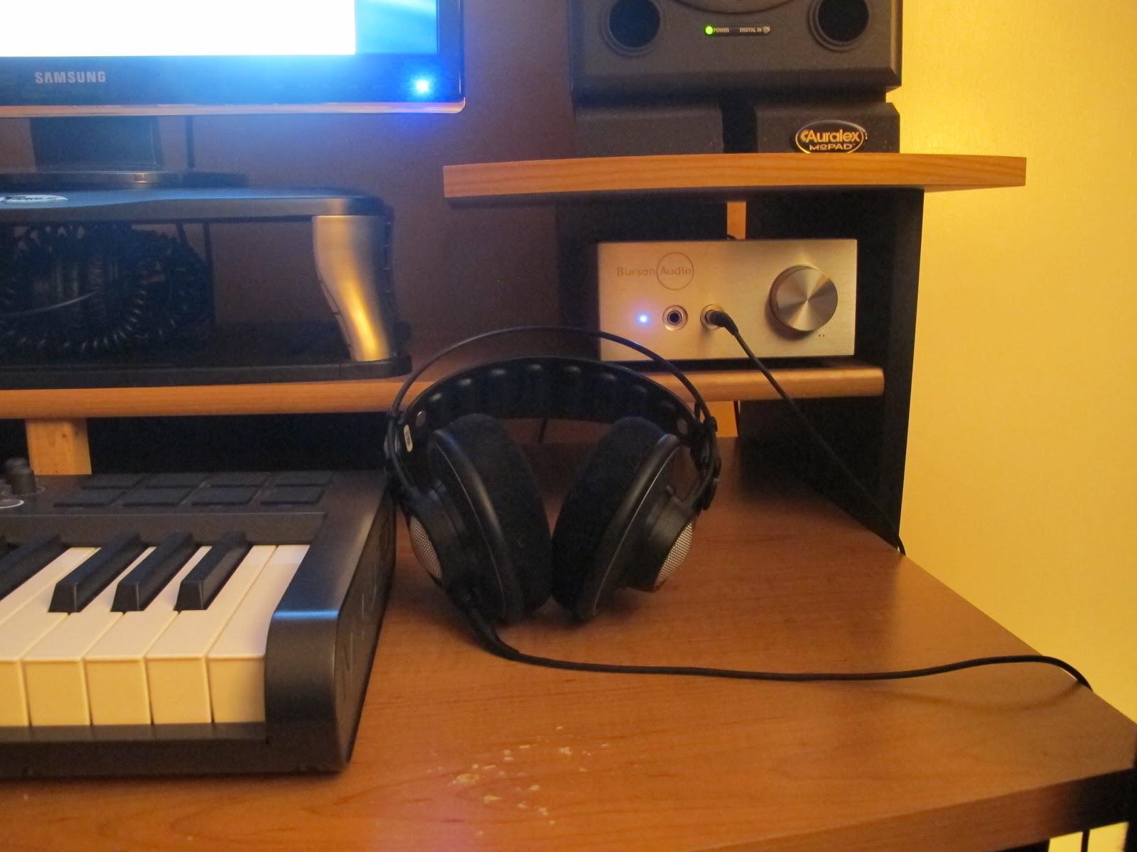 AKG K702 headphone amplifier