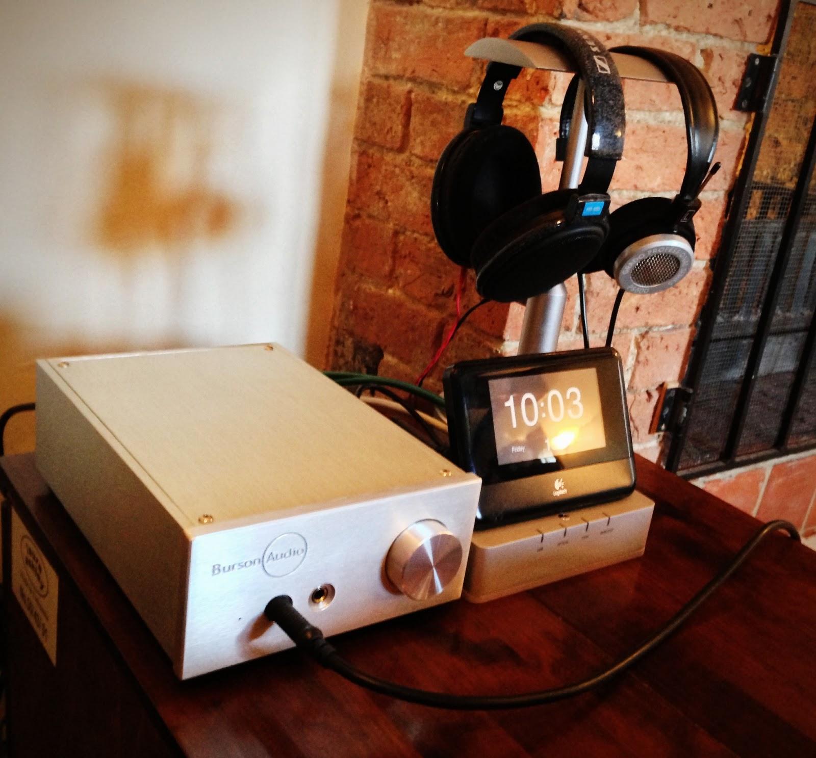 Arcam rDAC Grado PS 500 headphone amplifier