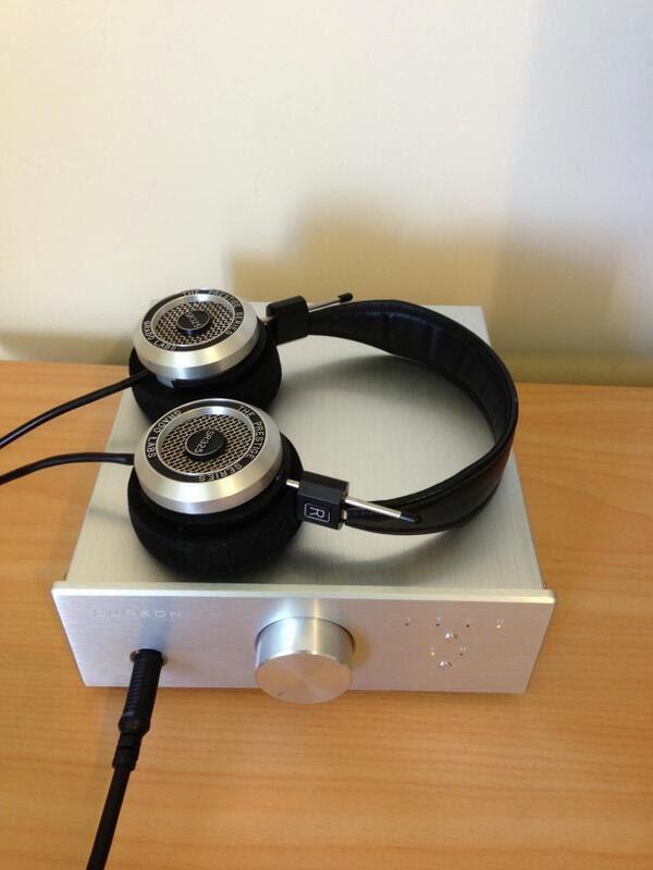 Grado SR 325is headphone amplifier USB DAC