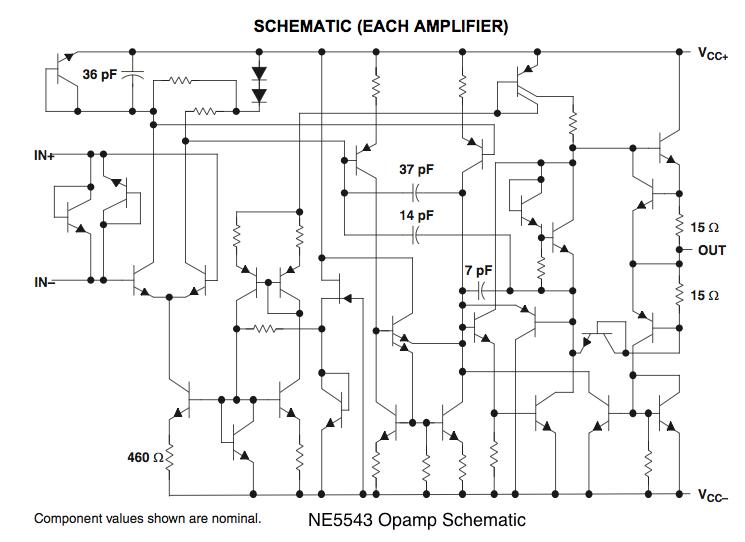 on opamp schematic
