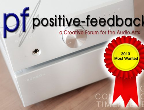Positive Feedback Most Wanted Awards 2013 Conductor & Timekeeper