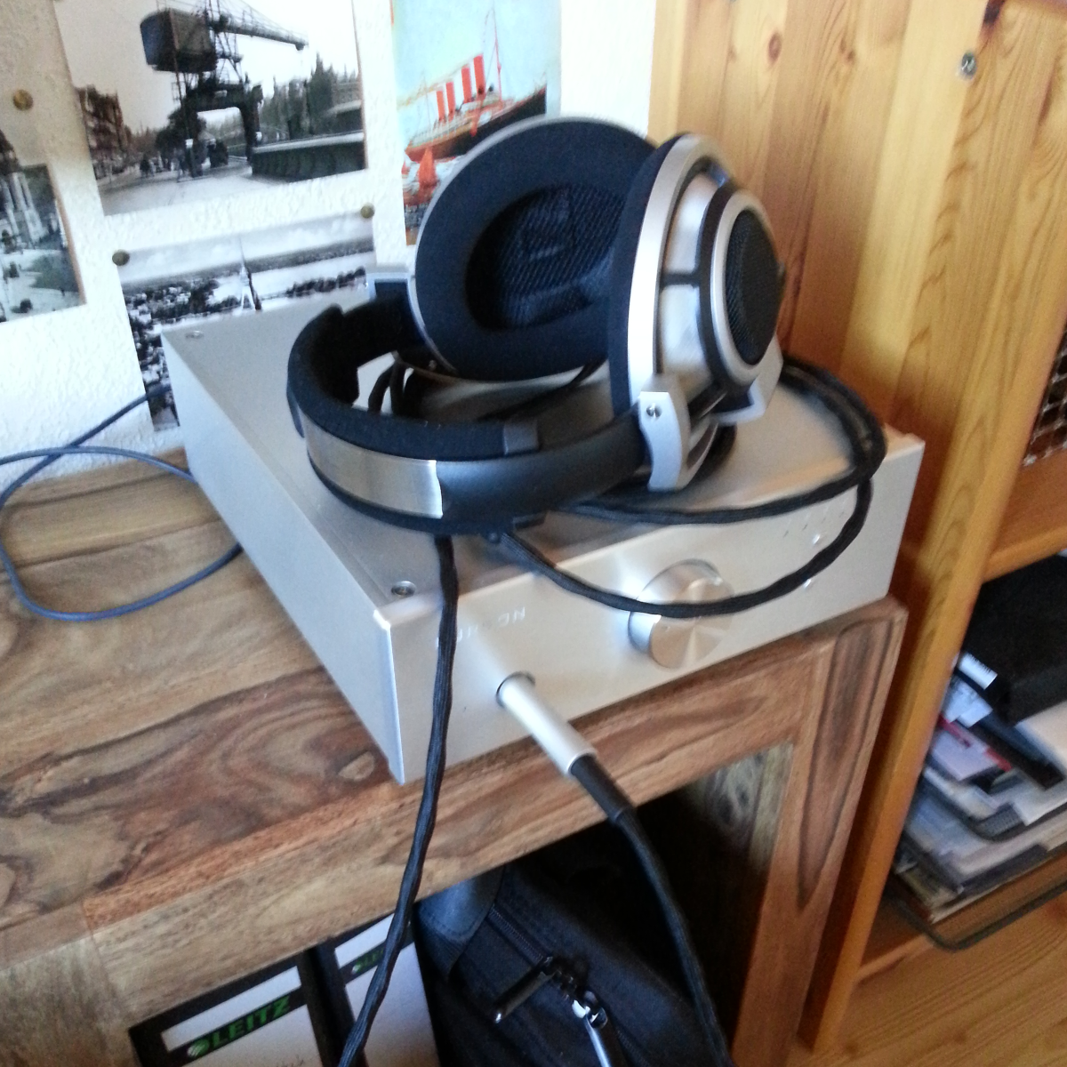 Sennheiser HD800 headphone amplifier USB DAC