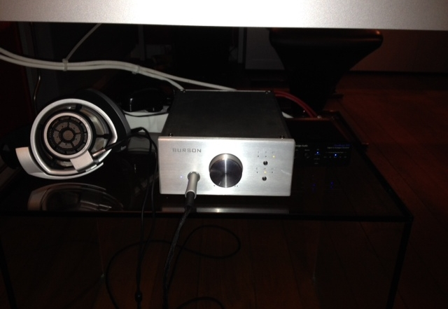 Burson Soloist with Sennheiser HD800 feedback by John S