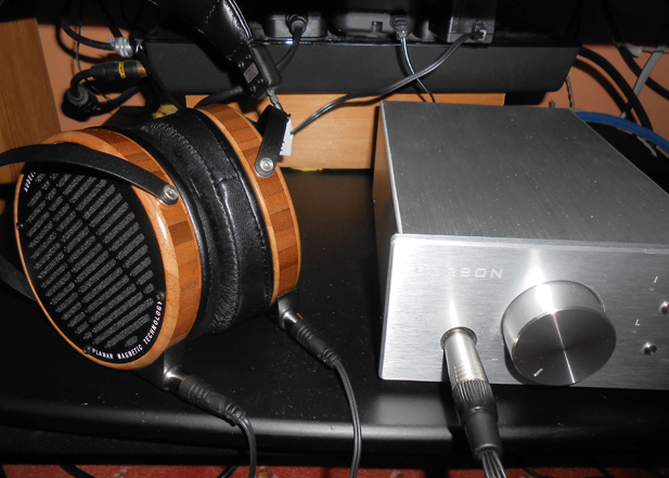 Burson Soloist with Audeze LCD2 feedback by Ron J.
