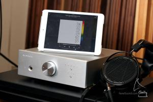 Audeze LCD-X headphone amplifier USB DAC