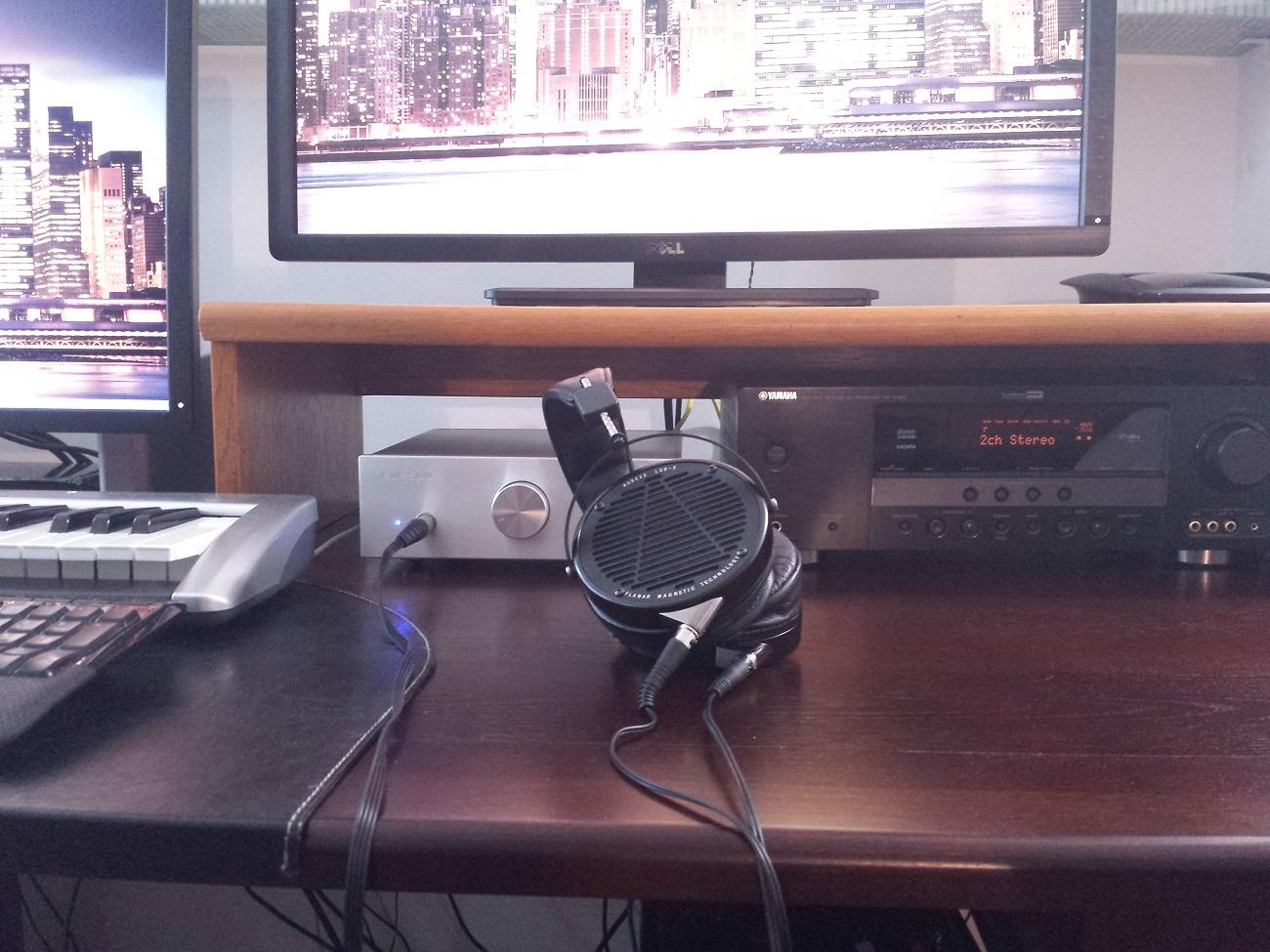 Audeze LCD-X headphone amp