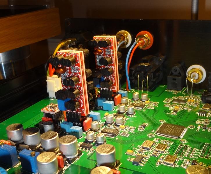Valab DAC upgrade burson discrete opamp