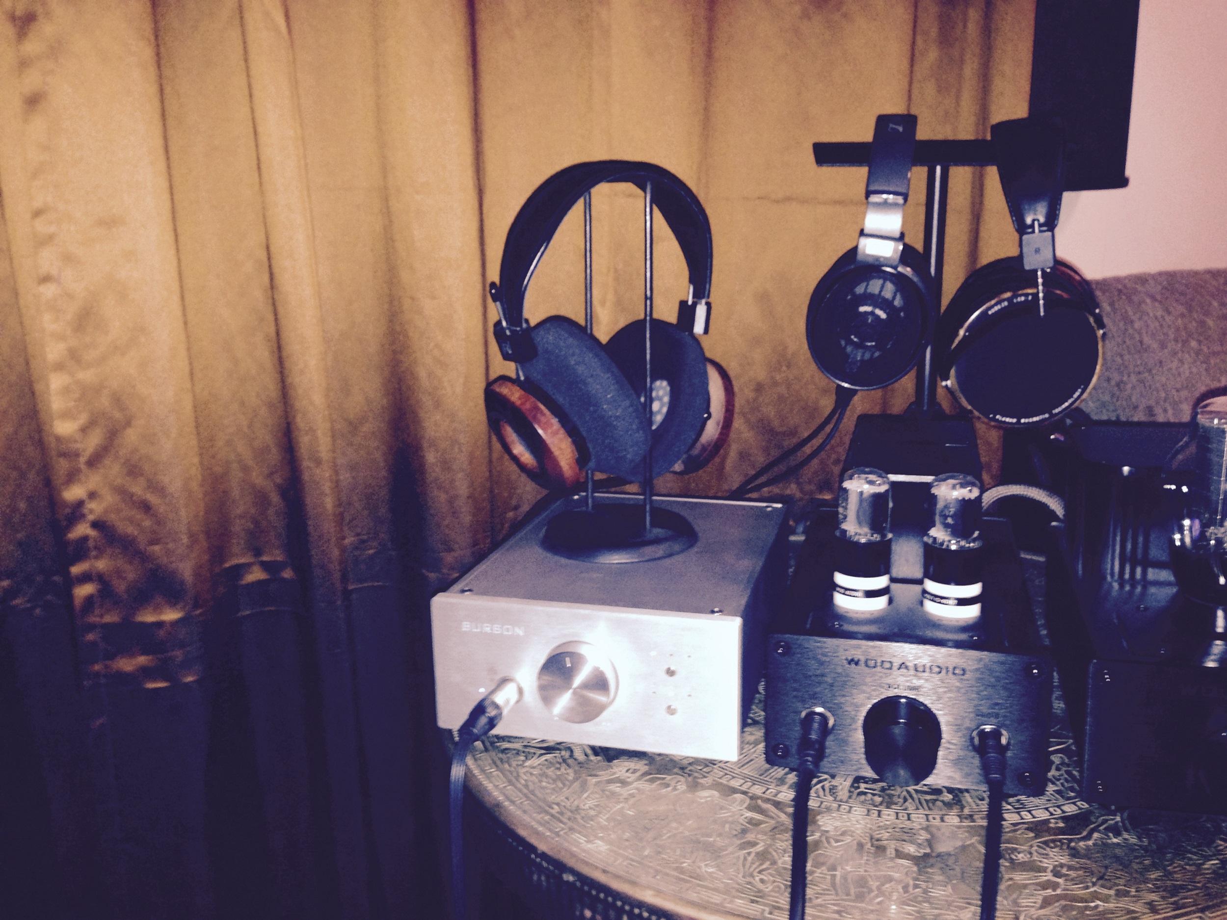 Audeze LCD2 headphone amp