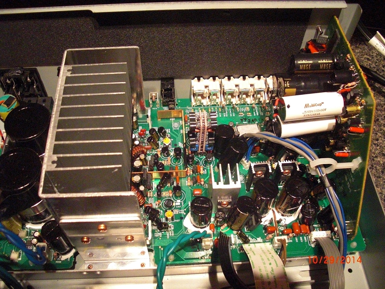 Supreme Sound Opamp V4 Burson Audio Amplifier Circuit Diagram Supreem Circuits And Onkyo A 9555 Upgrade With Op Amps