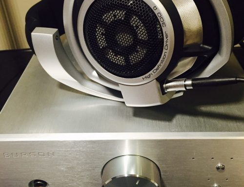 Sennheiser HD800 with Conductor SL headphone amp USB DAC