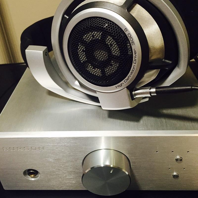 HD800 HD600 Solid state headphone amp