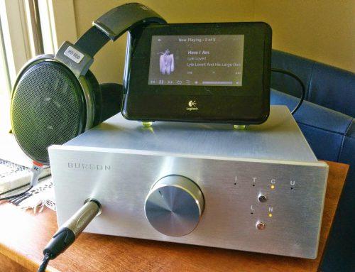 Conductor SL Headphone amp USB DAC with Sennheiser HD650 & Logitech Squeezebox