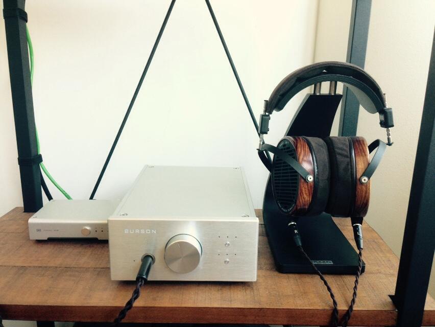 Audeze Solid state headphone amplifier