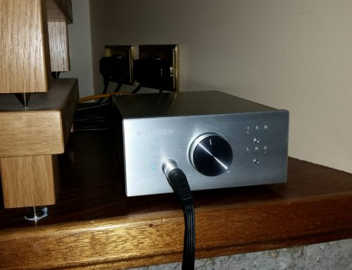 Soloist Headphone amplifier/Preamp with Audeze LCD-3