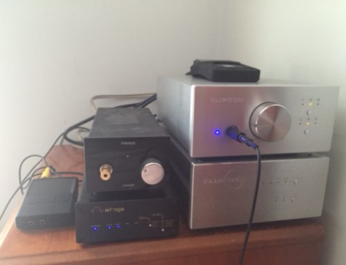Soloist headphone amplifier with Mrspeakers Alpha dog