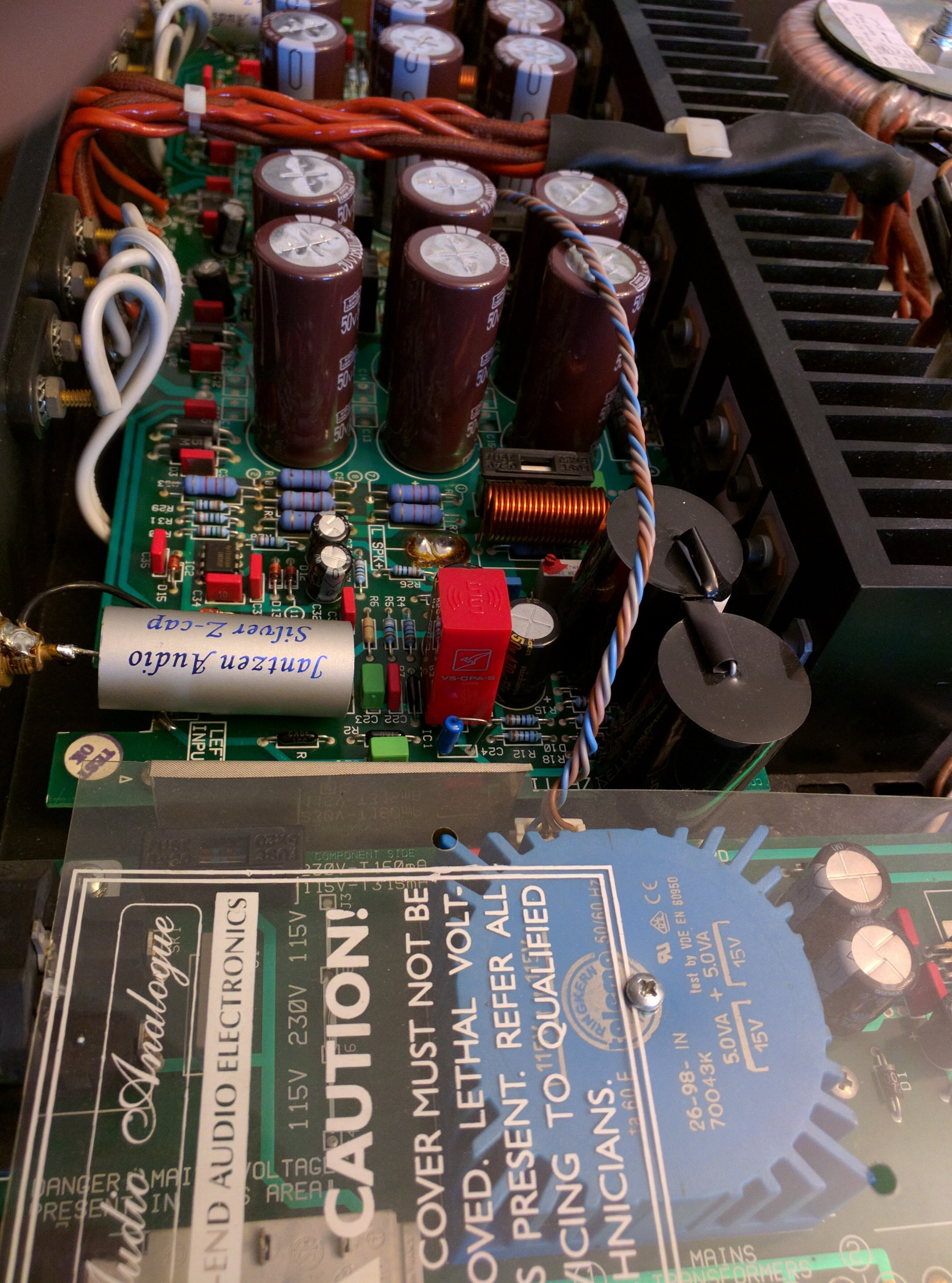 V5 Ss Opamp Page 10 Burson Audio Noninverting Amplifier Analog Integrated Circuits Electronics Analogue Donizetti Power Upgrade With Op Amp