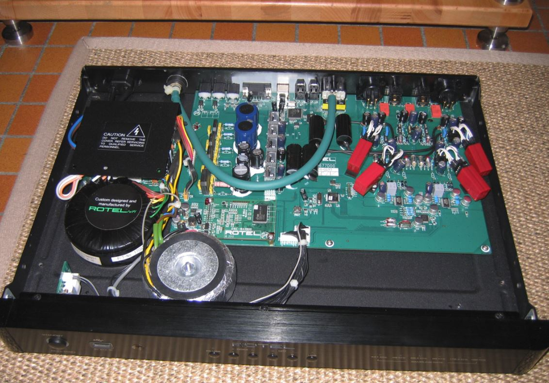 ROTEL RDD-1580 DAC with Burson V5 opamp upgrade – Burson Audio