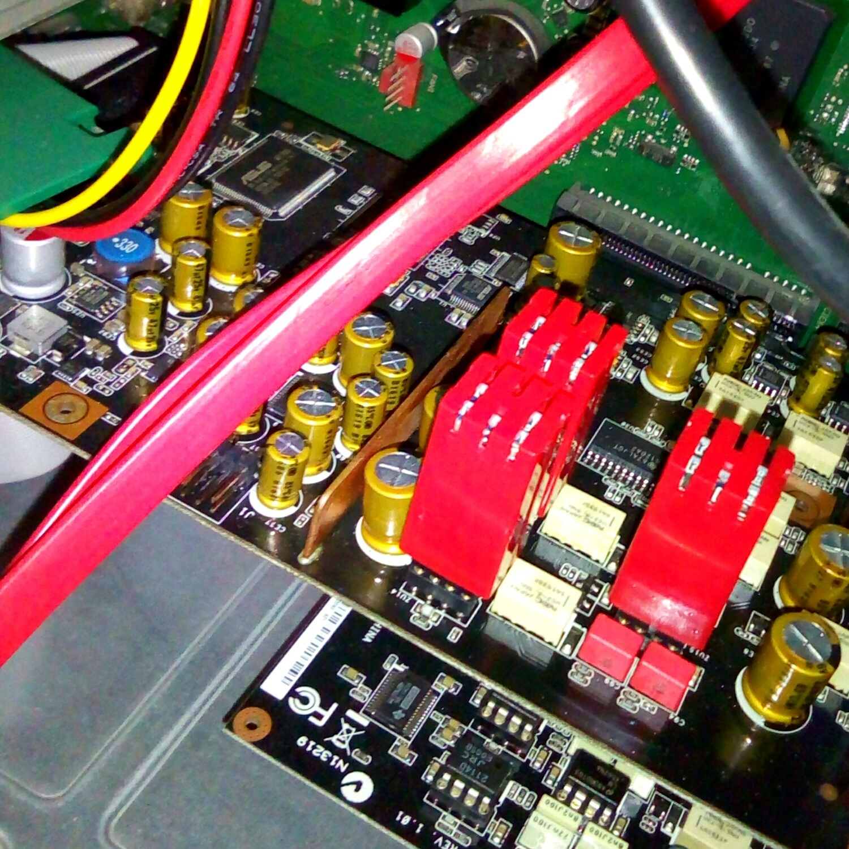 Asus Stx Ii 71 With Burson V6 Vivid Opamp Audio Op Amp Wiring