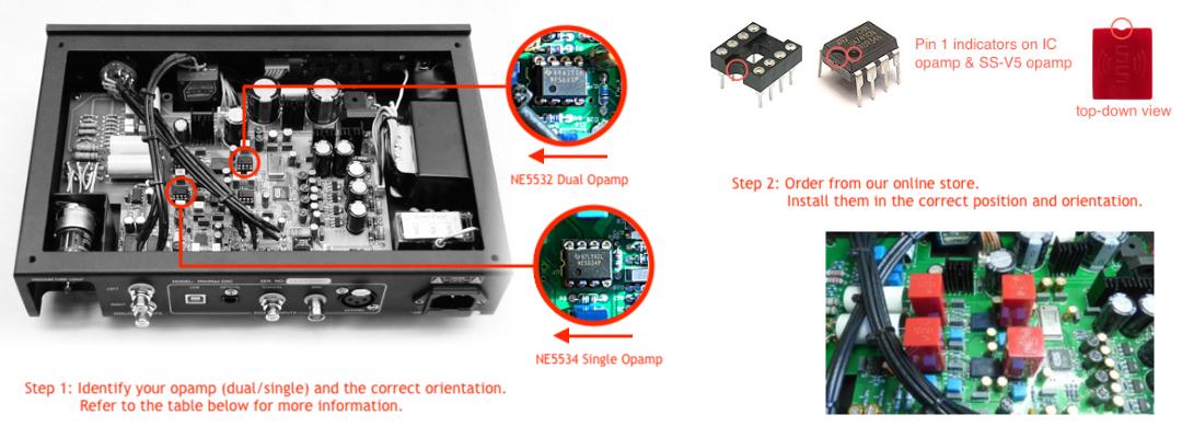 Burson Audio Supreme Sound Op-Amp V6 Dual (Sold) Opamp-Install
